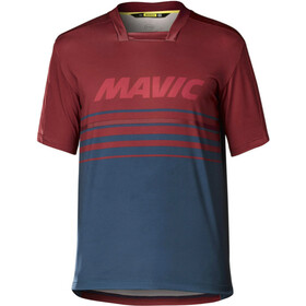 Mavic Deemax Pro Maillot manches courtes Homme, red poseidon